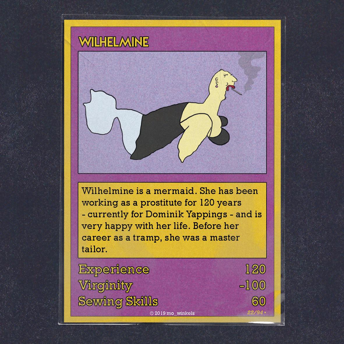 Card 22 – Wilhelmine
