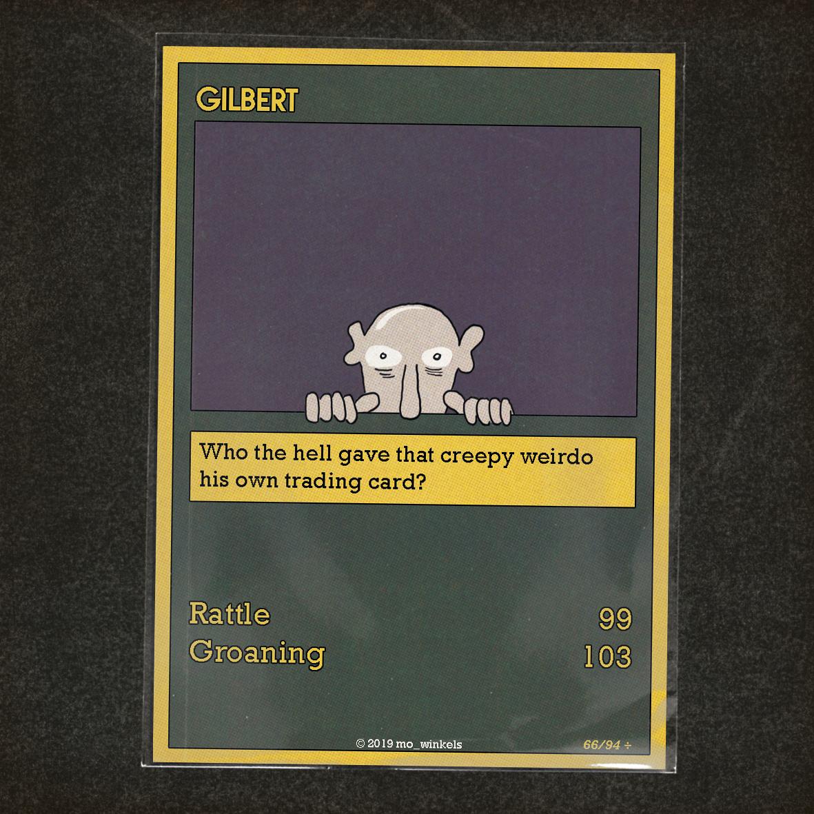 Card 66 – Gilbert
