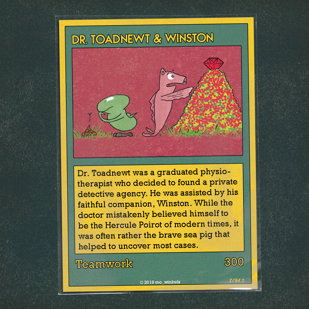 Card 07 – Dr Toadnewt & Winston